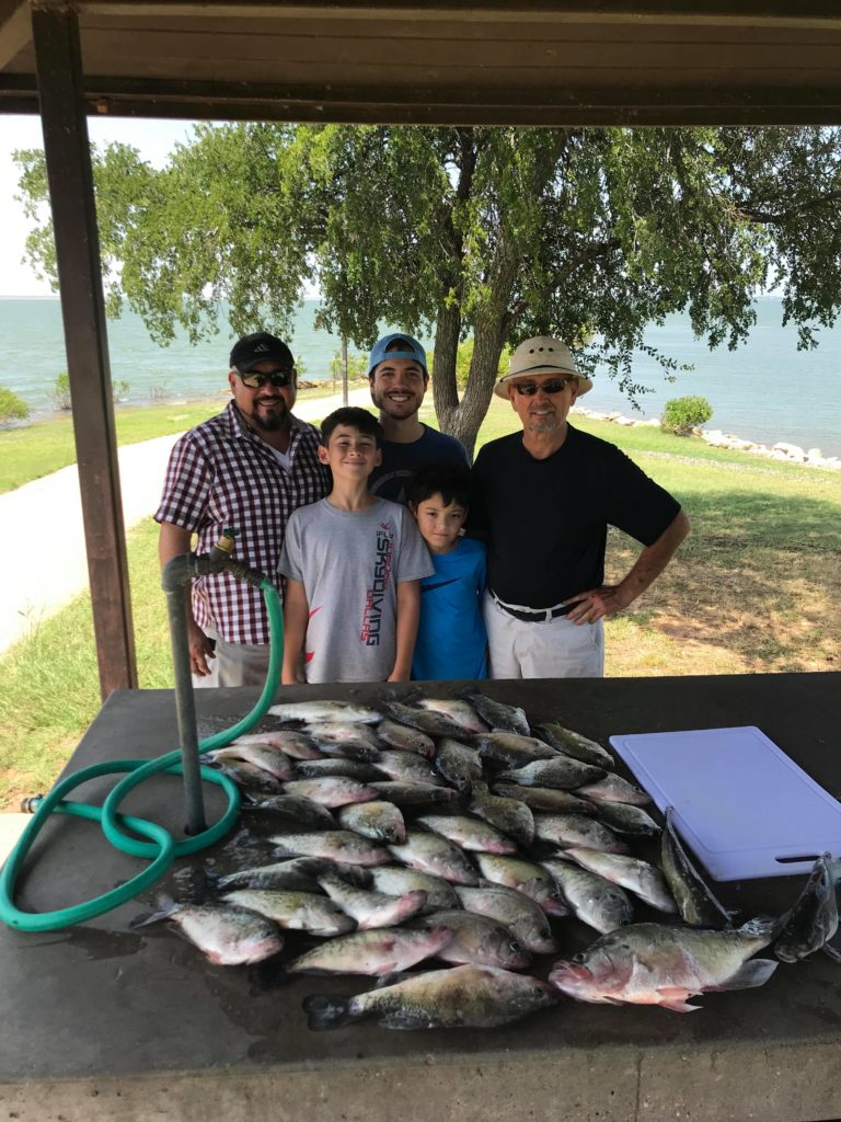 Vest Fishing Guide Service Lake Lewisville Catch the Crappie 4