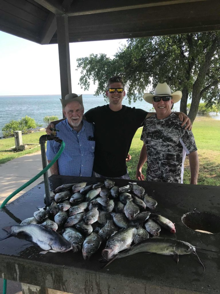 Vest Fishing Guide Service Lake Lewisville TX Catch the Crappie 11