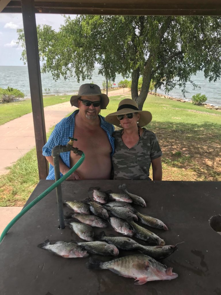 Vest Fishing Guide Service Lake Lewisville TX Catch the Crappie 12