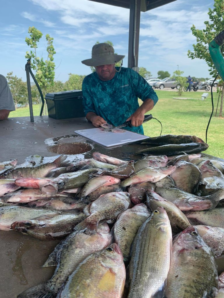 Vest Fishing Guide Service Lake Lewisville TX Catch the Crappie 17