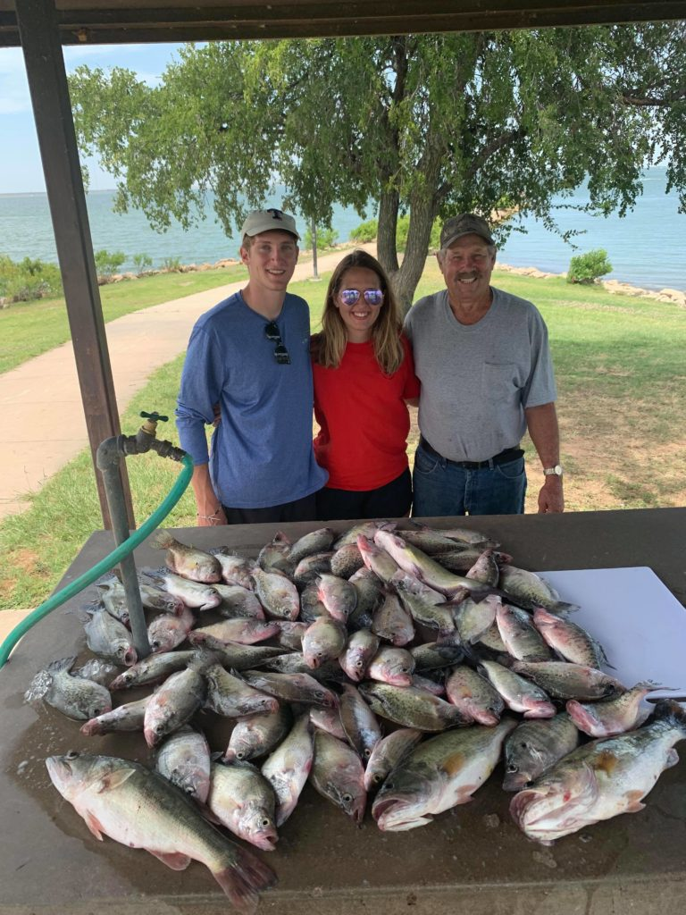 Vest Fishing Guide Service Lake Lewisville TX Catch the Crappie 6