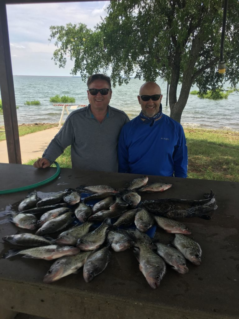 Vest Fishing Guide Service Lake Lewisville TX Catch the Crappie 8