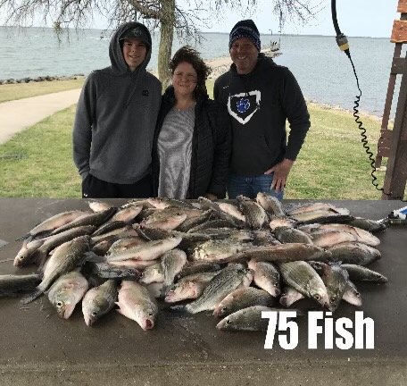 Vest Fishing Guide Services Lake Lewisville Fishing 2